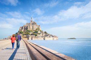 Lieux à visiter lors d'un séjour aux chambres d'hôtes Le Val Borel en Normandie - Mont St Michel