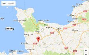 Où se trouve le Val Borel Chambres d'hôtes en Normandy - Montbray