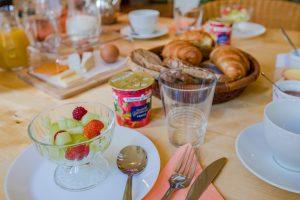 Découvrez les petits dejeuners au Val Borel Chambres d'hôtes à Montbray, Manche - Normandie